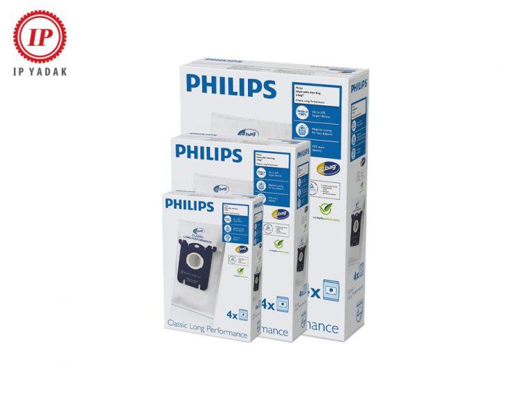 پک 3 تایی پاکت جاروبرقی فیلیپس 4 عددی